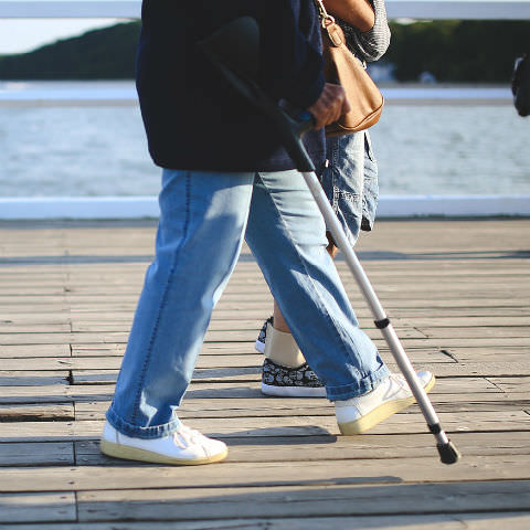 Telecare Tips: Choosing a walking aid