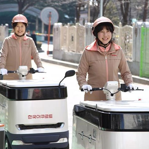 Telecare News - Yoghurt Delivery Service for Elderly