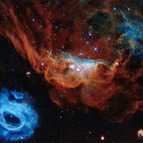 Hubble Telescope 30th birthday image